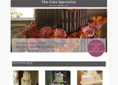 the-cake-specialist Website designed by Cimplicity Web Design Studio, Bespoke Design, Website, Cake, Custom Design, Mudpie, Cheeseburger Paradise Pie, Cakes, Tart