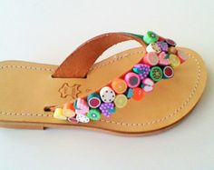 Girls Leather Sandals Sizes 28-35 Now Available @ www.etsy.com/shop/ChicSandals