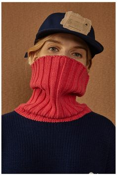 Fall/Winter 2016 capsule collecion lookook #ader #adererror #FW16 #collection #lookbook #design #fashion #styling #space #spaceship #camel #color Fall Winter 2016, Project 4, Creative Photography, Fashion Brand, Knitted Hats, Knitwear, Winter Hats, Turtle Neck, Knitting