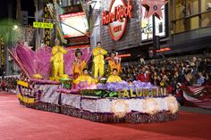 The Hollywood Christmas Parade is one of the most longstanding holiday traditions. Every year, the Sunday after Thanksgiving, Santa accompanies floats and marching bands down Hollywood Boulevard. The parade starts at 6 pm. There are plenty of places to watch the parade for free along the street, or you can purchase grandstand seats.