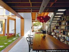 Image result for floors with both timber and polished concrete