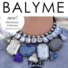 STATEMENT NECKLACE COLLAR BALYME