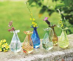 Swirl Bouquet Bud Vases