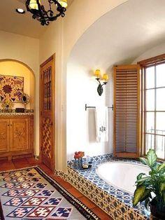 Mexico Interior Bathroom : Mexico Interior Decorating Ideas – Better Home and Garden