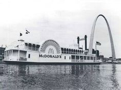 McDonald's at the foot of the Arch.