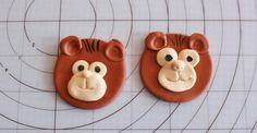 How to Make Monkey Cupcake Toppers • CakeJournal.com