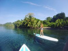 The feeling of cruising softly on a board over the sea...  #Paddleboarding