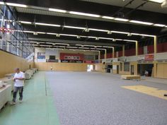 Dalla Riva Sportfloors was called by the #Bamberg Basketball champion of Germany for the installation of a new sports #floor