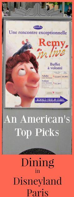An American's Top Picks for Dining at Disneyland Paris | Restaurant | Counter Service | Buffet