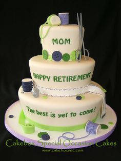Retirement Cake by cakeboxsoc, via Flickr