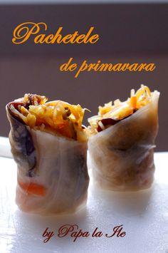 pachetele de primavara 14 Fresh Rolls, Ethnic Recipes, Food, Essen, Meals, Yemek, Eten