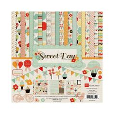 "new paper!! Sweet Day Collection 12""x12"" Echo Park"