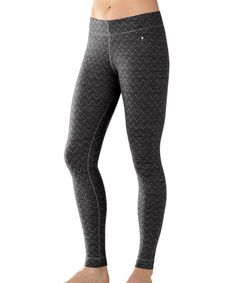 Look what I found on #zulily! Black Pattern NTS Mid 250 Merino Pants - Women #zulilyfinds
