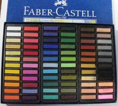 Faber Castel Pastels looks like hours and hours of fun! Soft Pastels, Chalk Pastels, Let's Make Art, Mothers Day Crafts For Kids, My Art Studio, Polychromos, Faber Castell, Drawing Tools, Art Sketchbook