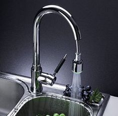 15 Best LED Kitchen Faucets images | Kitchen taps, Led, Pull ...