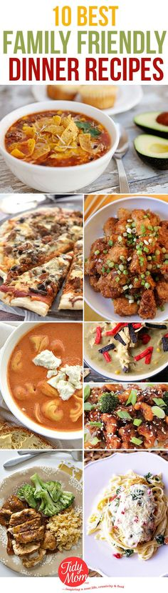 Please the whole family with these easy weeknight meals everyone will love. 10 family dinner recipes from top food bloggers to your dinner table.