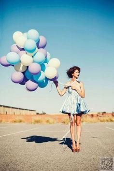 45. #ballons - 64 magnifique #Photo Senior #idées que vous avez à…