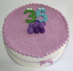 AMIGURUMIS AND CROCHET: CAKE ARANDANOS