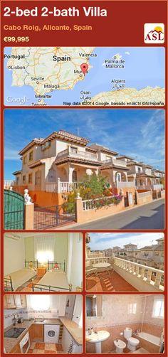 2-bed 2-bath Villa in Cabo Roig, Alicante, Spain ►€99,995 #PropertyForSaleInSpain