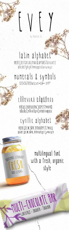 *EVEY* | handwritten Font by nantia on @creativemarket Russian and Greek language support!