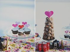 I could do this with Timbits. :)  http://theknottybride.com/18863