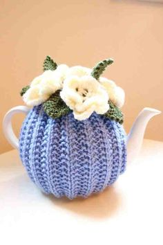Tea for One or Two Sky Blue from Etsy so no pattern but very cute
