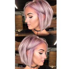 """15.7k Likes, 348 Comments - Hair Makeup Nails Beauty (@hotonbeauty) on Instagram: """"Absolutely loving this Icy Lavender done by @kristi_mac_of_hair and @mckenziehawkins_ on…"""""""