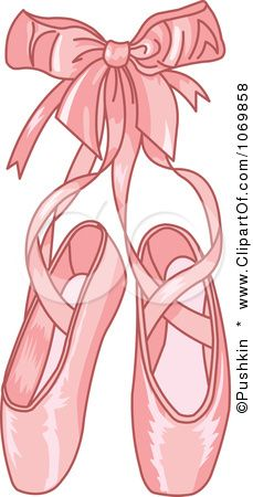 Clip Art Ballet Shoes Clipart ballet shoes clipart my girls pinterest bags and high resolution slippers illustration by pushkin this royalty free rf design is available to use in commercial projects aft