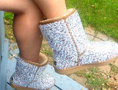 Bedazzled UGG boots<3 One day when I have a little girl