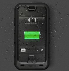 The juice pack PRO provides you with the confidence that your iPhone can lead you through the most demanding conditions. With the largest battery ever built into a juice pack case, complimented by a belt clip and rugged good looks, the juice pack PRO is the perfect adventure companion.