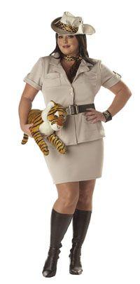 Plus Size Safari Lady Costume - Plus Size Costumes  sc 1 st  Pinterest & Adults Mens Safari Explorer Fancy Dress Costume Outfit - One Size ...
