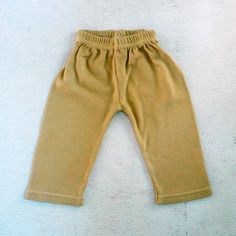 Baby clothes Soft cotton Baby pants in Natural by LePetitMonAmi, $11.00