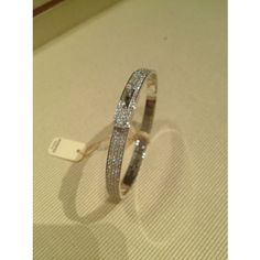 Hermes White Gold 4.30ctw Diamond Limited Edition Kelly Bracelet---want, want, want