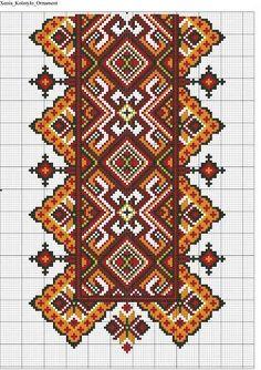 Gallery.ru / Фото #119 - схемы для вышиванок - zhivushaya: