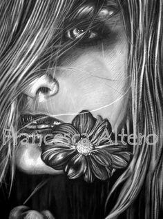 Carboncino su carta cm 50x70 2011
