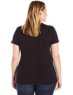 Just My Size Just My Size Women's Plus-Size Short Sleeve Crew Neck Tee from $1.63