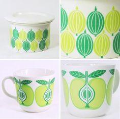 print & pattern blog features retro ceramics