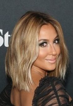 Adrienne Bailon Ombre bob, hair inspiration after sisters wedding :)