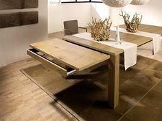 Erweiterbarer Esstisch Für Kleine Räume