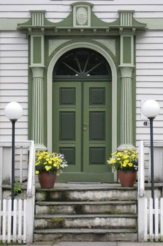 Very charming door in Norway...