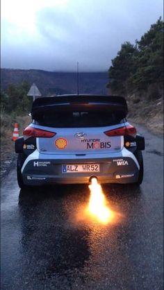 Hyundai i20 WRC rally car