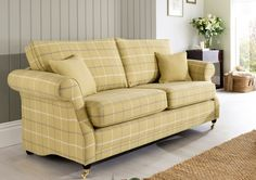 Only 689 Lochinver 2 Seater Sofa Sophisticated Country Elegance In Plaid Or Plain