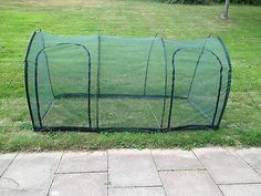 NEW Garden Net Tunnel Cloche Plant Protection 3m L x 1m wide x 1m high GPN200-20