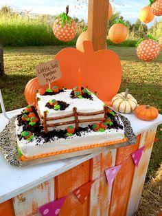 Cute little pumpkin lanterns. For Julia's birthday party? Pumpkin Birthday Cakes, Fall Birthday Cakes, Halloween First Birthday, Pumpkin Patch Birthday, Pumpkin Patch Party, Pumpkin Birthday Parties, Pumpkin First Birthday, 2nd Birthday, Birthday Ideas