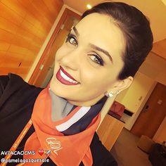 """""""E quando você menos esperar, tudo acontece. Tenha fé!"""" Boneca  Pamela Gasques ❤️✈️ #crewlife #flightattendant #comissária #fly #flyaway #gol #aviacaocms #vidadecomissaria #aeromoças #aeromoça #gollinhasaereas #aero #stewardess #golmais #revistatripulante #comissáriadevoo #comissariadebordo #vidadetripulante #voegol"""