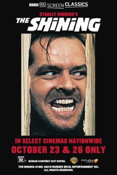 """Signing a contract, Jack Torrance, a normal writer and former teacher agrees to take care of a hotel which has a long, violent past that puts everyone in the hotel in a nervous situation. While Jack slowly gets more violent and angry of his life, his son, Danny, tries to use a special talent, the """"Shining"""", to inform the people outside about whatever that is going on in the hotel.#Movies #Mystery #Horror #JackNicholson"""
