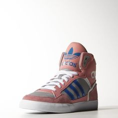 online store d4a42 6a845 adidas Extaball Shoes - Pink   adidas US Pink Adidas, Adidas Shoes, High Top
