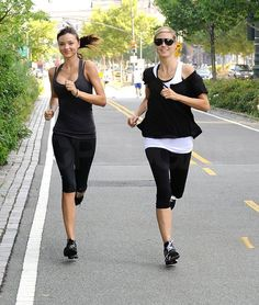 @Polly Williams, I think we should let Miranda and Heidi join our workouts