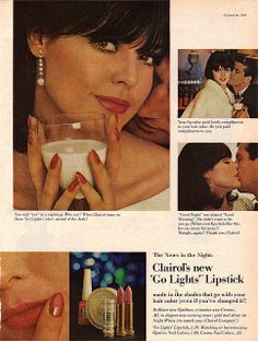 1965 ad for Clairol lipstick