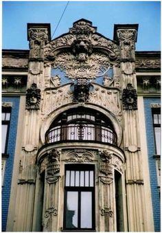 art nouveau architecture | ... Iela, a famous streetcontaining lots of art nouveau architecture